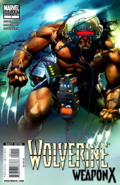 Wolverine: Weapon X #1 50/50 Cover