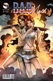 B.A.R. Maid #3 Cover C Qualano