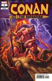 Conan the Barbarian #1 Greg Hildebrandt Variant
