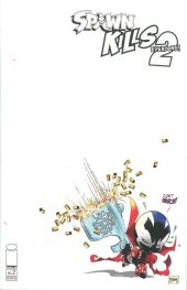 Spawn Kills Everyone Too #2 Cover B McFarlane Sketch Cover