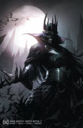 Dark Nights: Death Metal #2 Francesco Mattina Minimal Trade Dress Variant