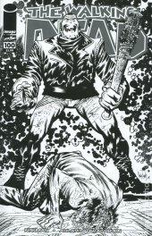 The Walking Dead #100 15th Anniversary Blind Bag Harren B&W Cover