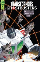 Transformers / Ghostbusters #1 SDCC Variant Cover