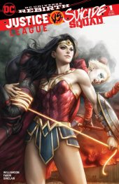 Justice League vs. Suicide Squad #1 Legacy Comics Exclusive Artgerm Color Variant