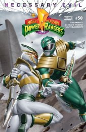 Mighty Morphin Power Rangers #50 Torpedo Comics Exclusive Green Ranger Variant