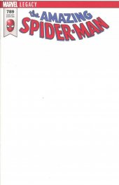 The Amazing Spider-Man #789 Blank Variant