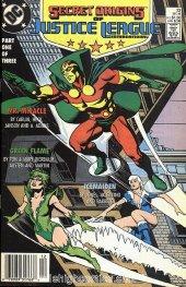 Secret Origins #33 Newsstand Edition