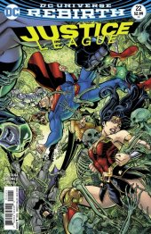 Justice League #22 Variant Edition