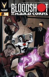 Bloodshot and H.A.R.D. Corps #14 Pullbox Lupacchino Variant