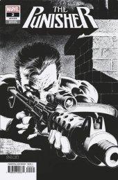 The Punisher #2 1:500 Zeck B&W Remastered Incentive Variant