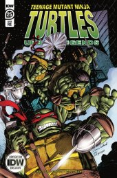 Teenage Mutant Ninja Turtles: Urban Legends #25 Convention Cover