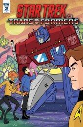 Star Trek vs. Transformers #2 1:10 Incentive Variant