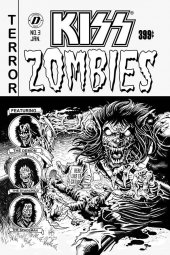 Kiss/Zombies #3 1:7 Incentive