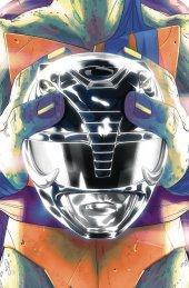 Mighty Morphin Power Rangers / Teenage Mutant Ninja Turtles #5 Leonardo Variant