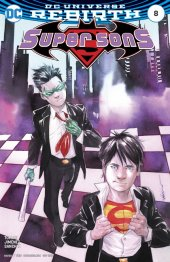 Super Sons #8 Variant Edition