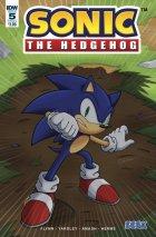 Sonic the Hedgehog #5 Original Cover