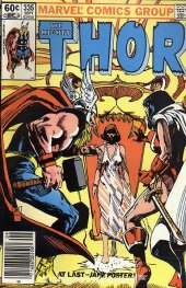 The Mighty Thor #335 Newsstand Edition