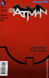 Batman #21 2nd Printing Variant