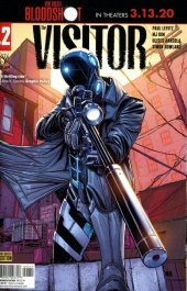 The Visitor #2 Cover D Pre-Order Edition