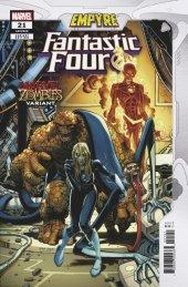 Fantastic Four #21 Adams Marvel Zombies Variant