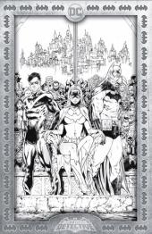 Detective Comics #1027 Tony S. Daniel Torpedo Comics Black & White Exclusive