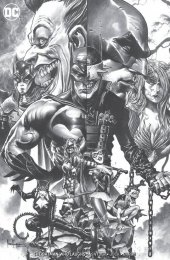 The Batman Who Laughs #6 Unknown Comic Books Exclusive Mico Suayan B&W Variant