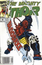 The Mighty Thor #451 Newsstand Edition