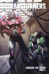 Transformers: Galaxies #7 Cover B Alex Milne