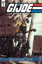 G.I. Joe: A Real American Hero - Silent Option #1 1:25  Cover Santolouco
