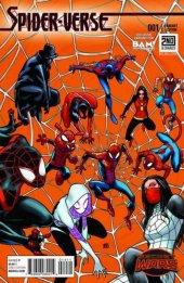 Spider-Verse #1 Books-A-Million Exclusive Variant