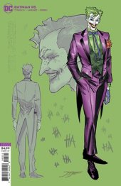 Batman #95 1:25 Joker Card Stock Variant Edition