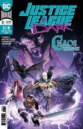 Justice League Dark #12 Original Cover