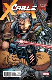 Cable #3 X-Men Trading Card Variant