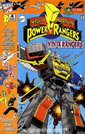 Mighty Morphin Power Rangers: Ninja Rangers / VR Troopers #4