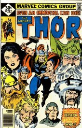 The Mighty Thor #262 Whitman Variant