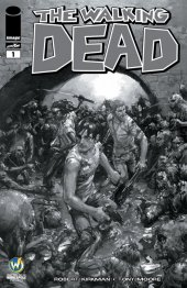 The Walking Dead #1 Wizard World Minneapolis Comic Con VIP Exclusive Sketch Variant