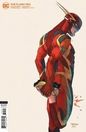 The Flash #754 Card Stock Variant Cover