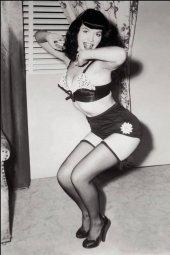 Bettie Page #3 1:21 Photo Virgin Incentive