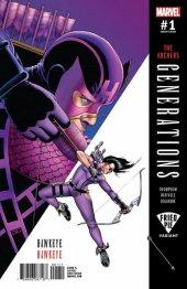 Generations: Hawkeye & Hawkeye #1 John Cassaday Variant