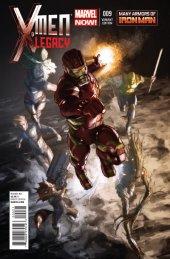 X-Men: Legacy #9 Iron Man Variant