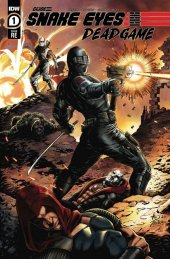 Snake Eyes: Deadgame #1 Mauk and Conrad Variant A