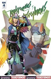 Transformers Vs. The Visionaries #4 1:10 Incentive Variant