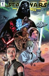 Star Wars Adventures #1 1:50 Incentive Variant