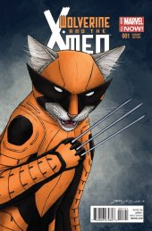 Wolverine and the X-Men #1 Animal Variant