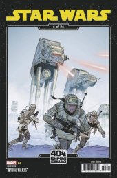 Star Wars #4 Sprouse Empire Strikes Back Variant