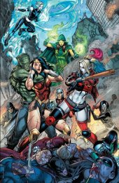 Justice League vs. Suicide Squad #1 Chad Hardin Virgin Variant