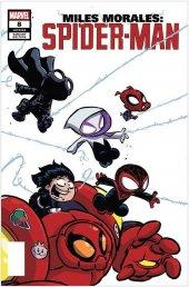 Miles Morales: Spider-Man #8 San Diego Comic Con Exclusive Skottie Young Variant