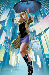 Spider-Gwen #24 J. Scott Campbell Exclusive Cover D