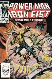 4th Sabretooth POWER MAN AND IRON FIST #84 F Marvel Comics 1982 Stock Image