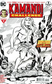 The Kamandi Challenge #1 Second printing sketch cover
